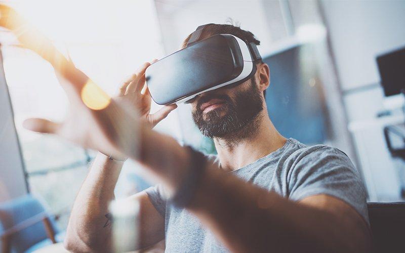 Un massage original grâce à la réalité virtuelle